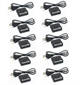 Picture of 10 x Quantity of Eachine X6 Hexacopter Dual Lipo 3.7v USB Battery Charger any mAh Auto Shut Off