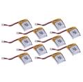 Picture of 10 x Quantity of Nano Racer Super Small Micro Mini RC Quadcopter Li-Po Battery Power Pack 3.7v 100mAh