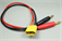 Picture of XT-60 Charge Cable w/ Male XT60 to 4mm Banana plug (1pc)