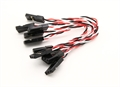 Picture of Super Flex 26AWG Silicone Servo Leads for Minimal Vibration Transfer To The FC (JR) 80mm (5pcs)