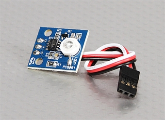 Picture of White LED PCB Strobe 3.3~5.5V for RC Night Flying Power From Drone Receiver