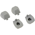 Picture of Hubsan X4 H107D-A02 Rubber Feet Protection Quadcopter Protectors 4 x Count Landing Gear