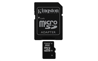 Picture of Samsung Galaxy S 5  8GB Micro SD Memory Card Flash TF Storage Card with Adapter