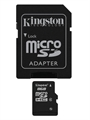 Picture of Sharp AQUOS Crystal 8 GB microSDHC Class 4 Flash Memory Card SDC4/8GBET SDC4/4GBET