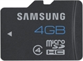 Picture of Samsung Galaxy Note Pro 4GB MicroSD Class 4 Memory Card 4GB