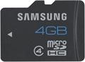 Picture of Samsung Galaxy Core Prime 4GB MicroSD Class 4 Memory Card 4GB