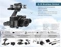 Picture of Octocopter  Sony G-3S Brushless Gimbal Camera Stabilization System for RX100 II Series Cameras High Precision