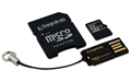 Picture of HTC One M9 Kingston Digital Multi-Kit/Mobility Kit 8 GB Flash Memory Card with Reader MBLY10G2/8GB