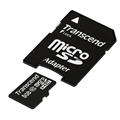 Picture of Sharp AQUOS Crystal Transcend 8 GB Class 10 microSDHC Flash Memory Card  TS8GUSDHC10