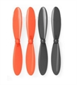 Picture of Hubsan X4 H107D Black Orange Propeller Blades Propellers Props