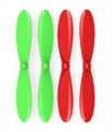 Picture of Wondertech W200C Gemini  Green Red Propeller Blades Propellers Props