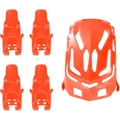 Picture of LIAN SHENG LS111 Nano RC Quadcopter 4CH 2.4Ghz Nano Body Shell H111-01 Red Quadcopter Frame w/ Motor supports