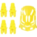 Picture of Elf Tiny Ufo Quadcopter Nano Body Shell H111-01 Yellow Quadcopter Frame w/ Motor supports
