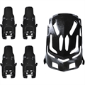 Picture of Elf Tiny Ufo Quadcopter Nano Body Shell H111-01 Black Quadcopter Frame w/ Motor supports