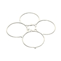 Picture of LIAN SHENG LS111 Nano RC Quadcopter 4CH 2.4Ghz Nano Quadcopter Protection Cover Guard Propeller Protector Trainer White H111-10