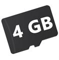 Picture of GoPro Hero 3 Black+ Micro SD Card 4GB Camera Flash Memory Card
