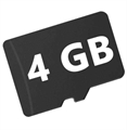 Picture of BlackBerry Classic Micro SD Card 4GB Camera or Phone Flash Storage Memory Card