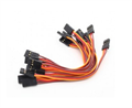 Picture of 10 x Quantity of DJI F550 10CM Male to Male Servo Lead (JR) 26AWG Wire Cable Connector